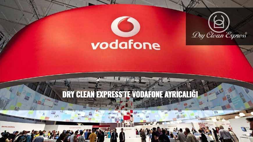 DRY CLEAN EXPRESS'TE VODAFONE AYRICALIĞI – BASIN AÇIKLAMASI