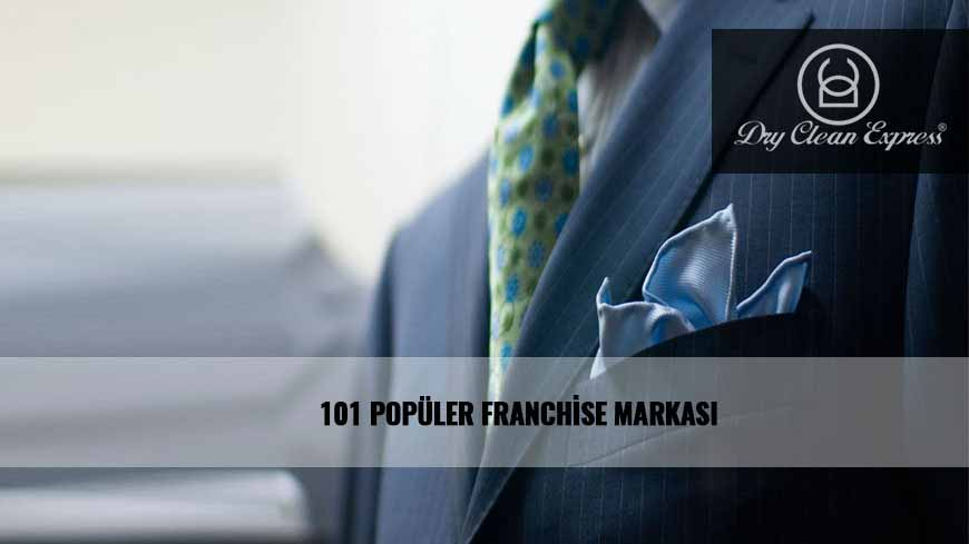 101 POPÜLER FRANCHİSE MARKASI DRY CLEAN EXPRESS