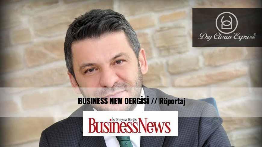 BUSINESS NEW DERGİSİ // KURU TEMİZLEME Röportajı