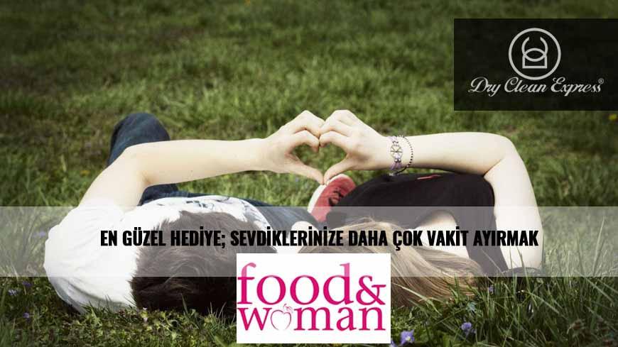 FOOD & WOMAN DERGİSİNDE KURU TEMİZLEME