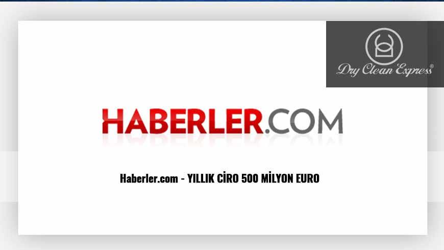 KURU TEMİZLEMEDE YILLIK CİRO 500 MİLYON EURO Haberler.com